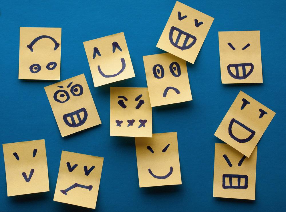 Le emozioni non sono sentimenti
